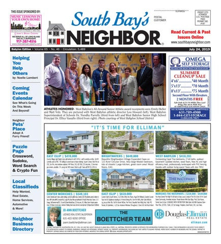 July 24, 2019 Babylon by South Bay's Neighbor Newspapers - issuu