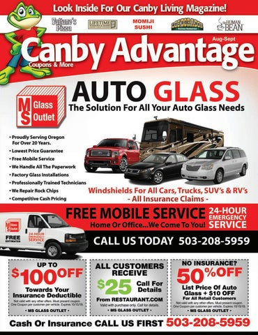 Canby Advantage Guide - AUGUST ISSUE by Active Media