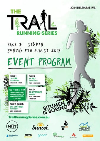 Page 1 of Trail Running Series R3 program snapshot