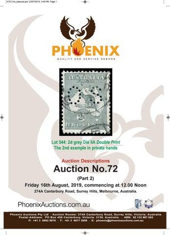 Phoenix Auctions No 72 Part 2 (descriptions) by Phoenix