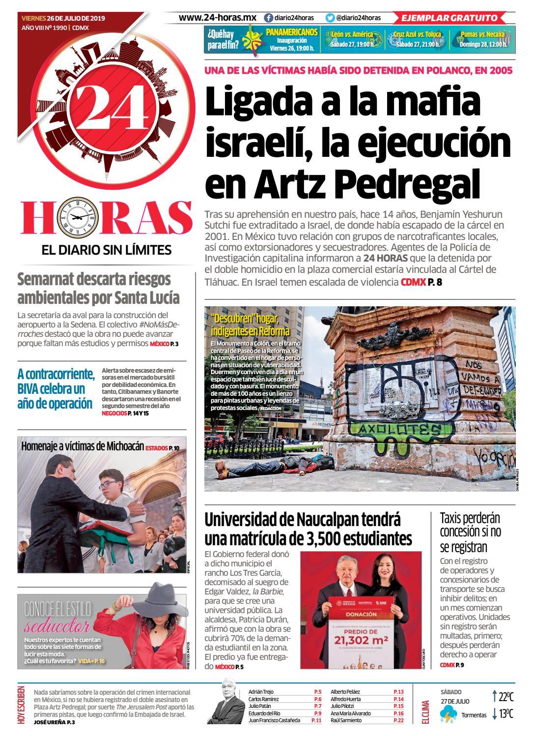 27b280df31f6 26   Julio   2019 by Información Integral 24/7 SAPI de C.V. - issuu