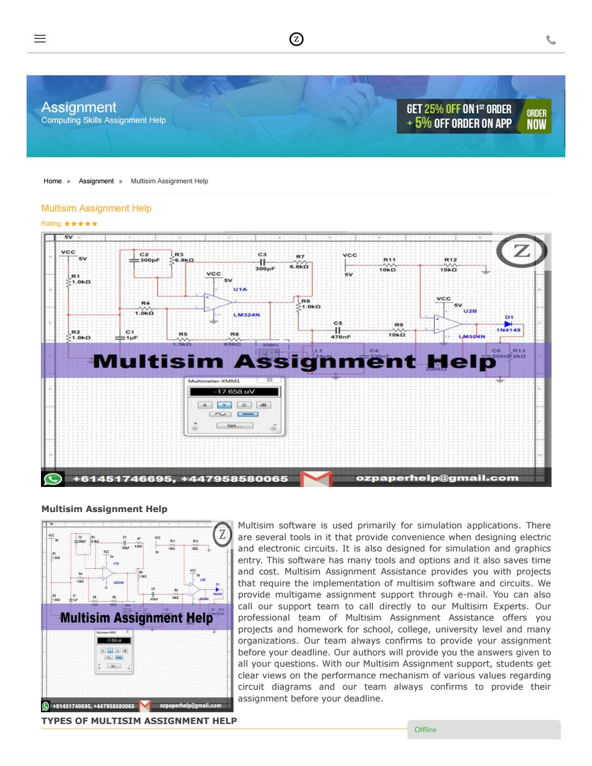 Build Your Own Multisim Like Circuit Design And Simulation Application