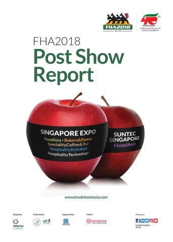 FHA2018 Post Show Report by Informa Markets - issuu