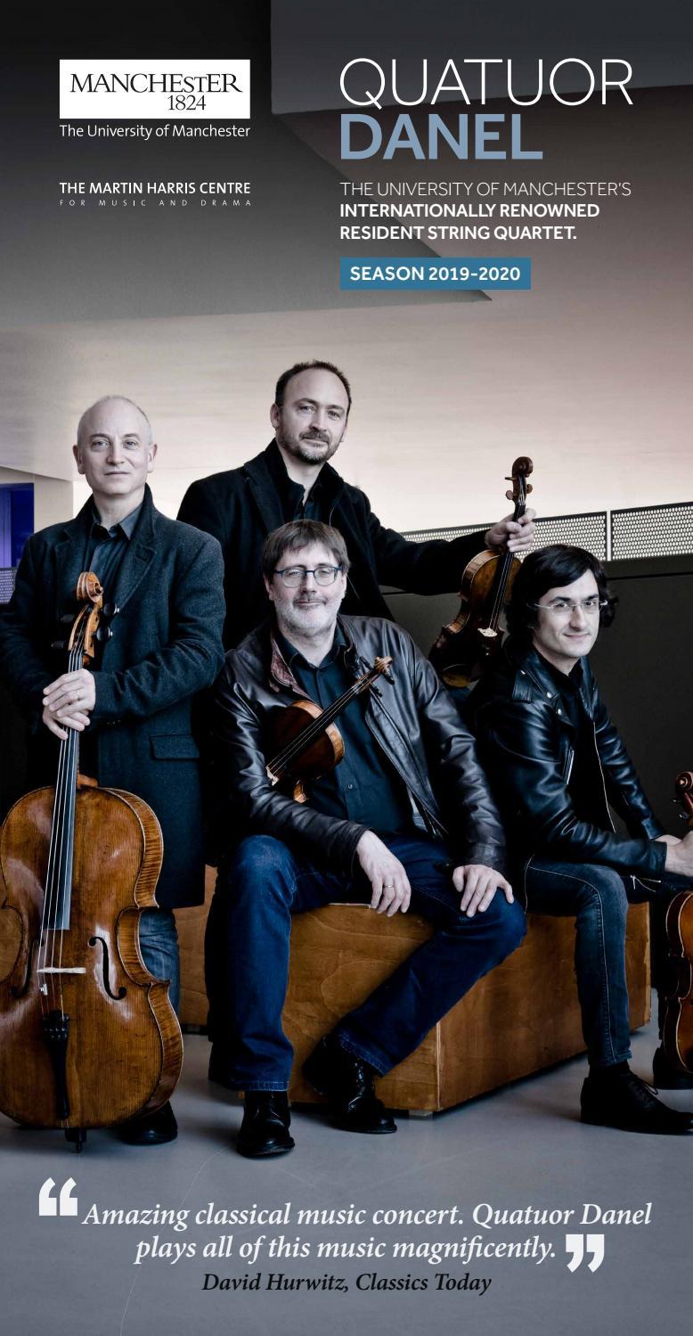 Quatuor Danel Season 2019-2020 by Martin Harris Centre - issuu