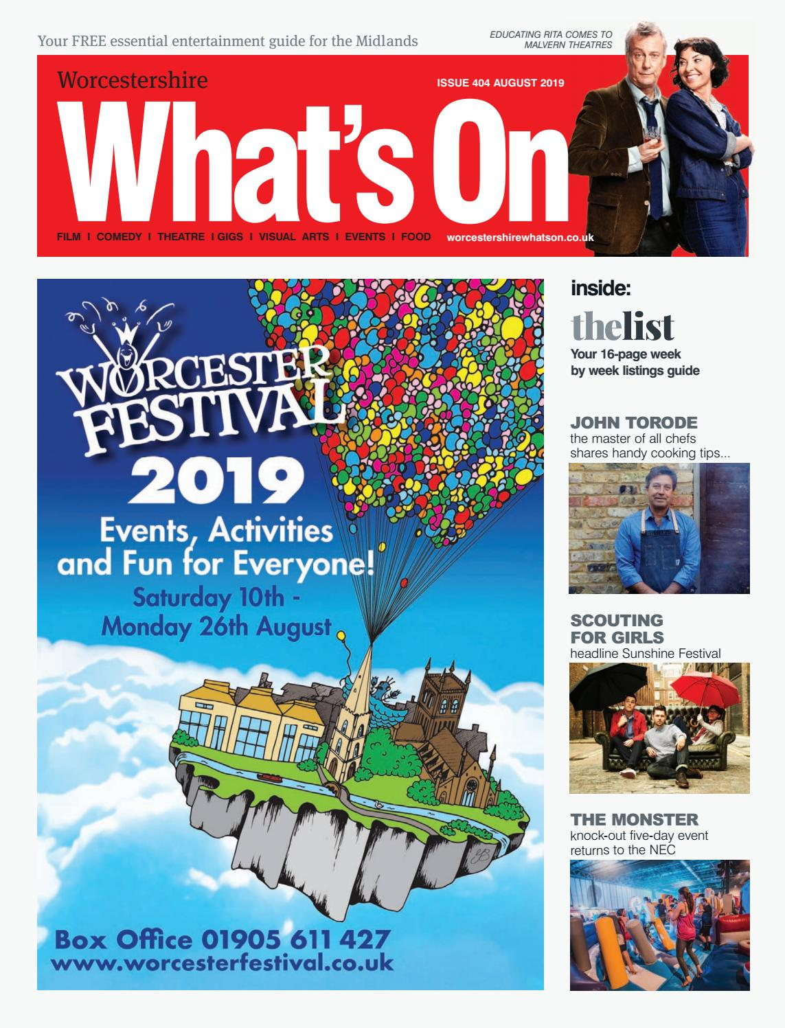 Worcestershire Whats On August 2019 By Whats On Magazine