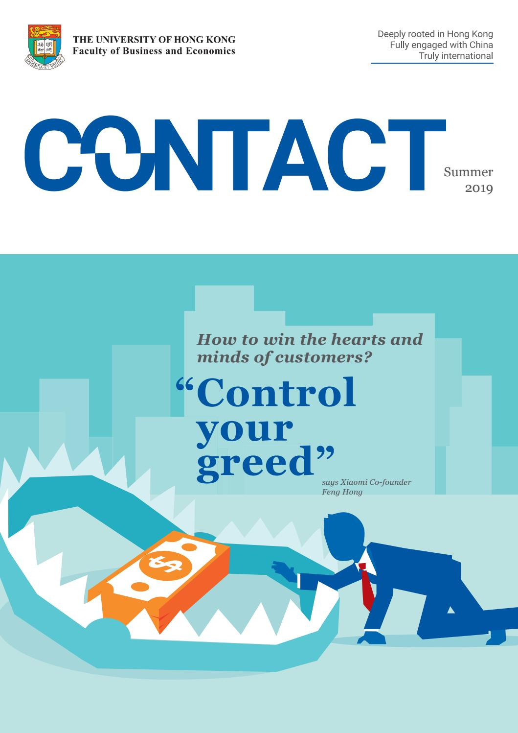 CONTACT (Summer 2019) by HKU Faculty of Business and Economics - issuu
