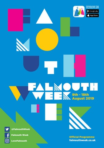 Falmouth Week Programme 2019 by loveFalmouth - issuu