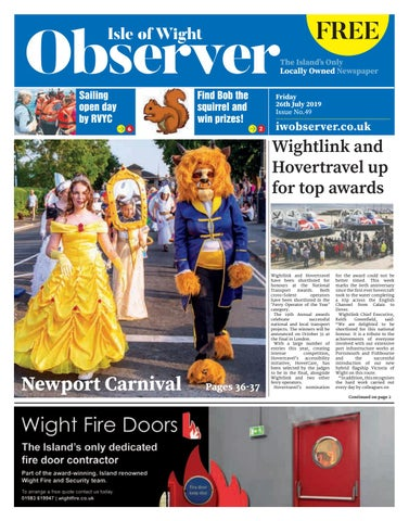 The Isle of Wight Observer Issue 49 by Isle of Wight