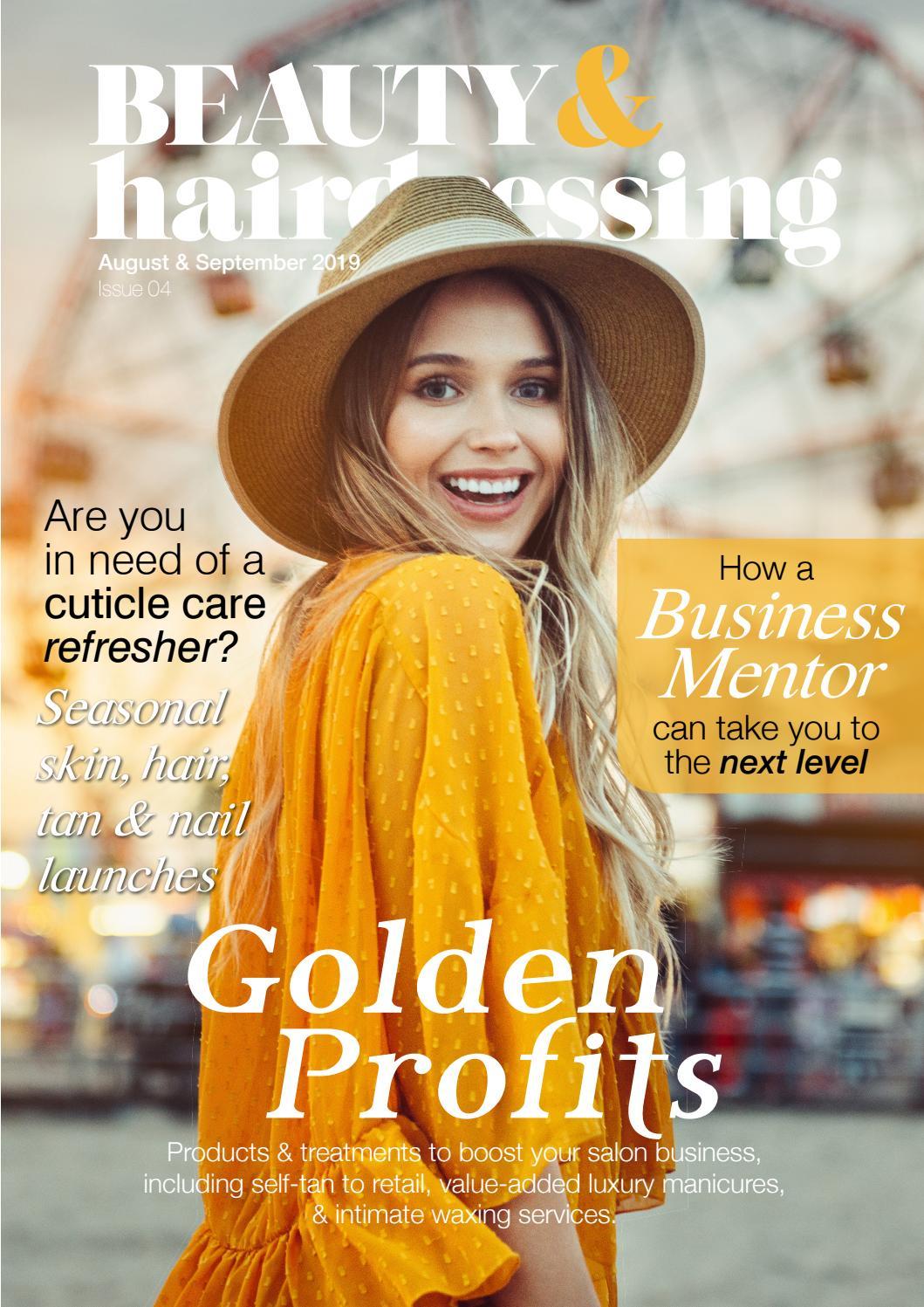 Beauty Hairdressing Magazine Issue 04 August September 2019