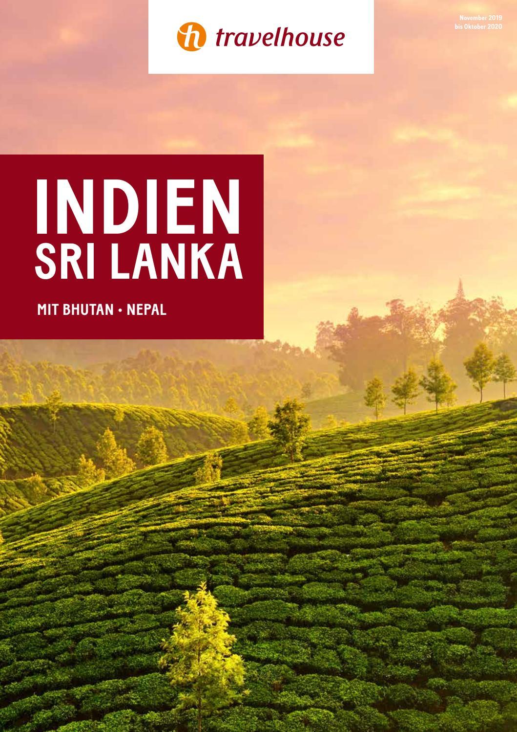 Travelhouse In n und Sri Lanka – November 2019 bis Oktober
