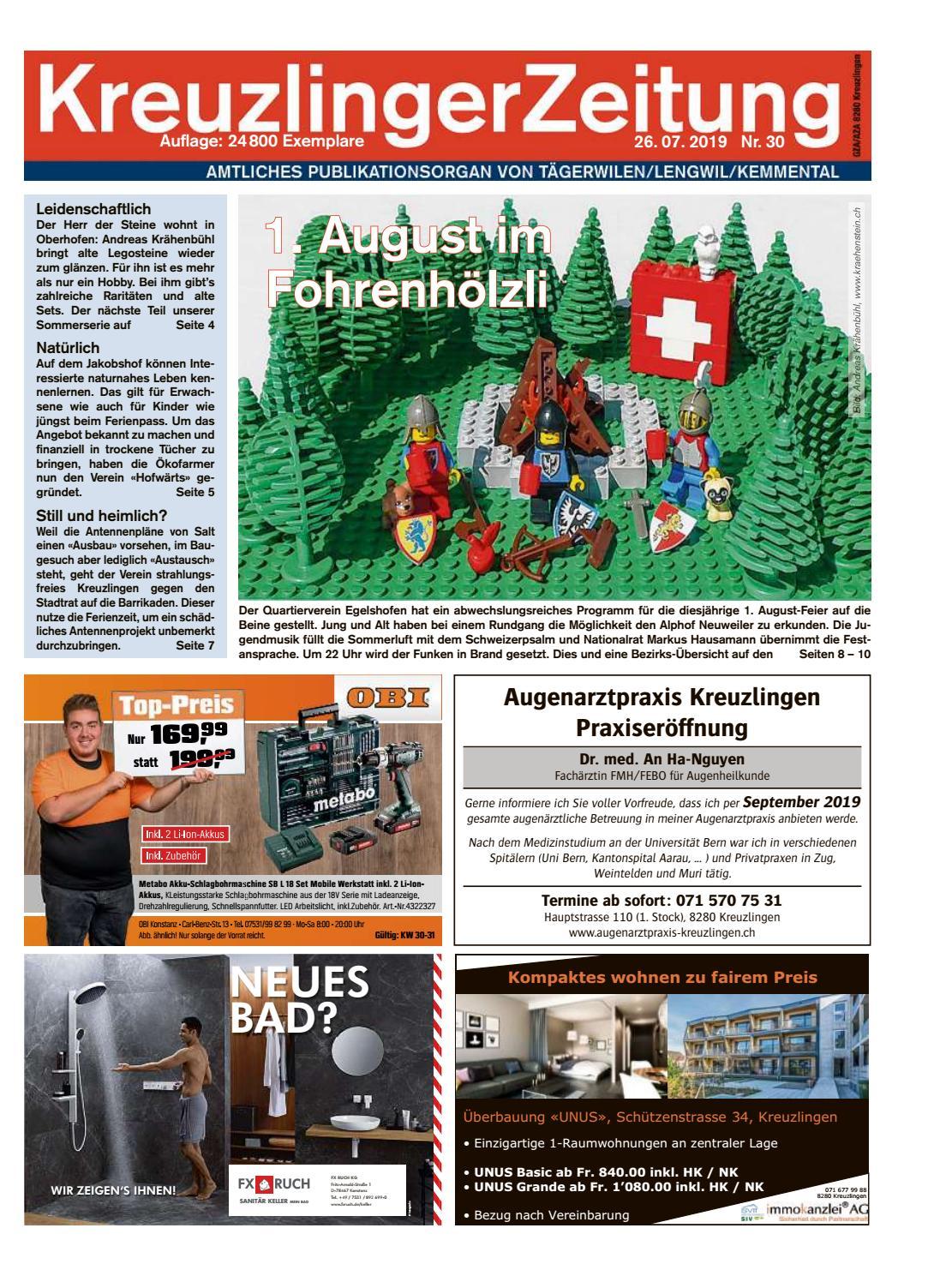 Dorfzeitung und Mitteilungsblatt der Politischen Gemeinde