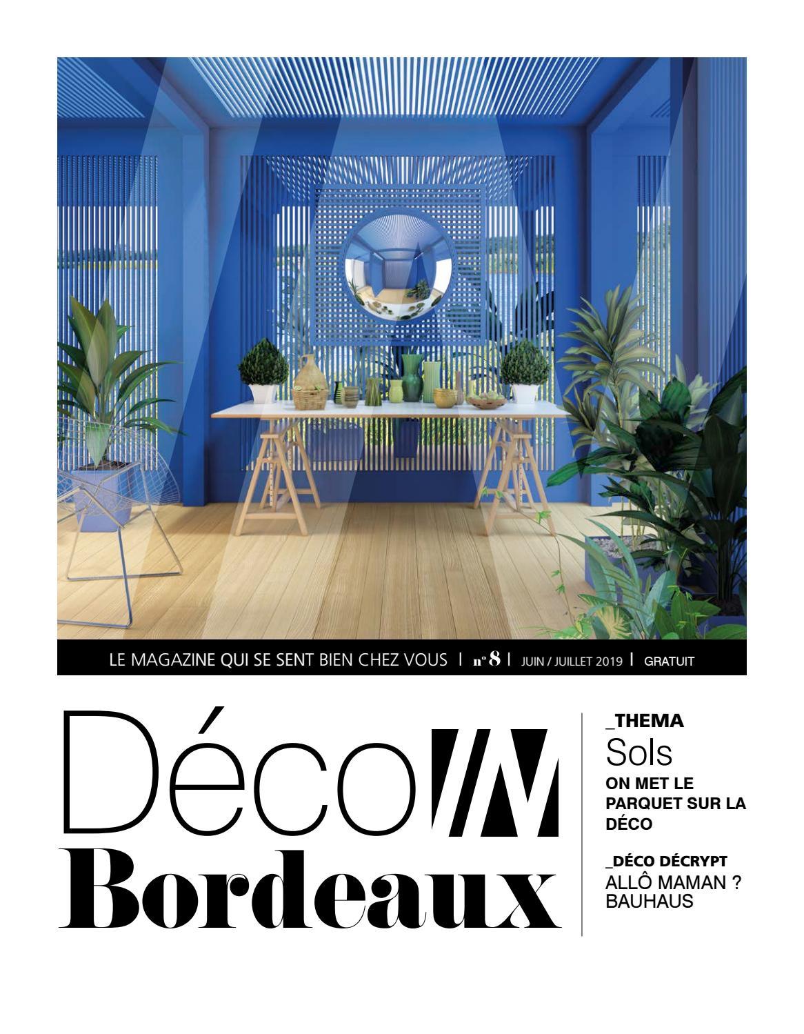 Mobilier De Jardin Merignac déco in bordeaux - n°8 - juin/juillet 2019in magazines