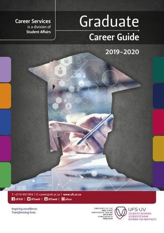 UFS Graduate Career Guide 2019-2020