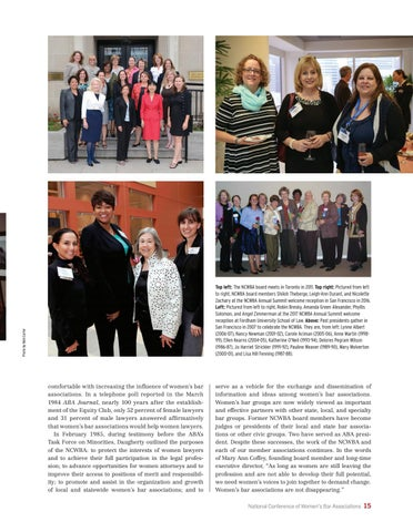 Page 19 of The National Conference of Women's Bar Associations