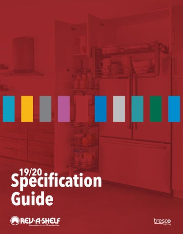 19/20 Specification Guide by Rev-A-Shelf - issuu