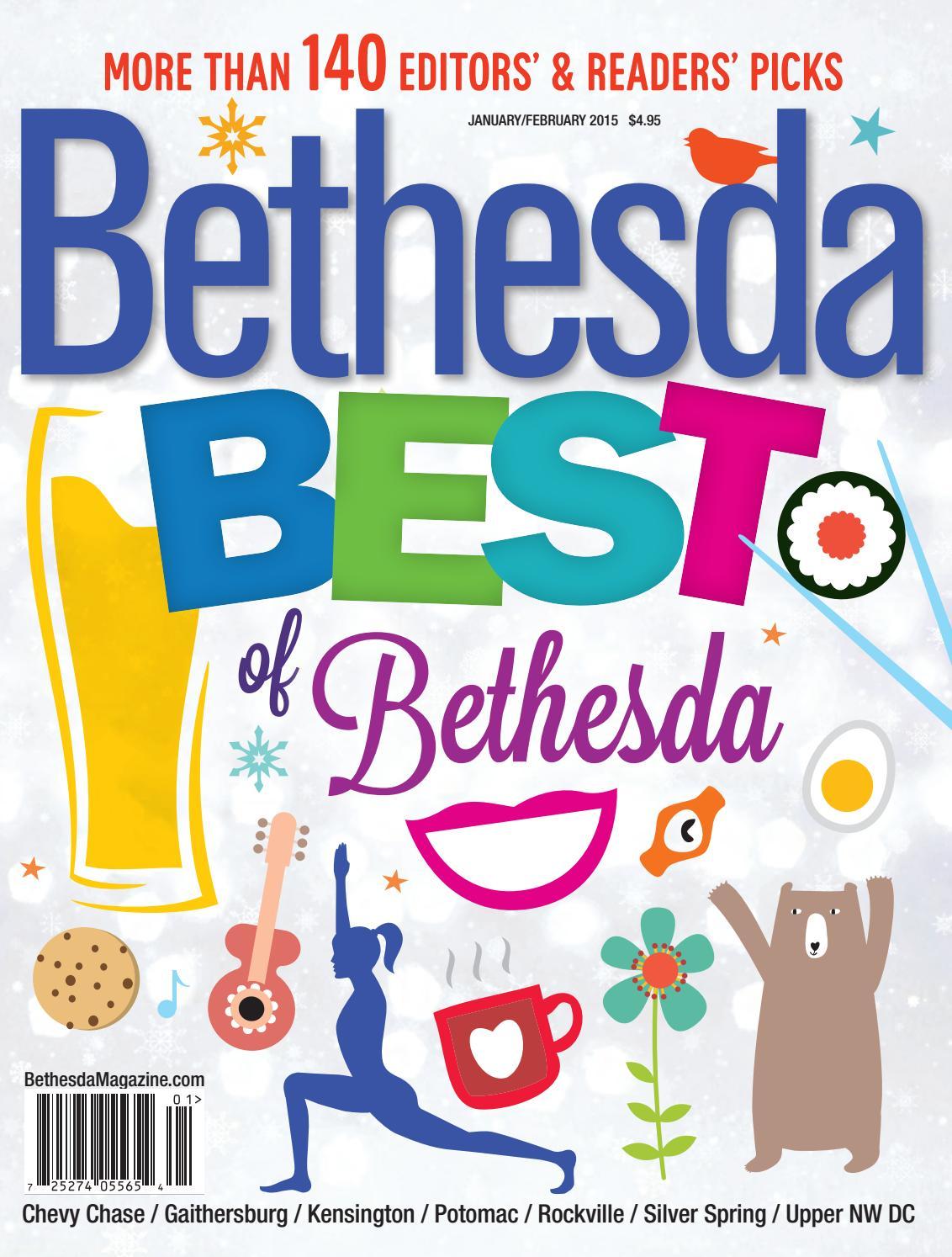 Bethesda Magazine: January-February 2015 by Bethesda