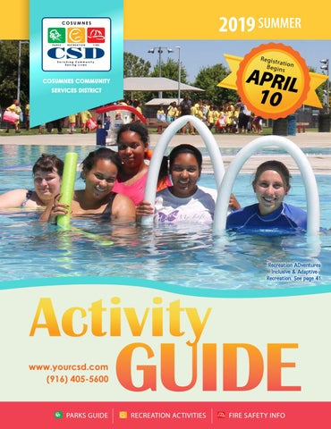 Csd 2019 Guide Cosumnes Summer Activity By Issuu 9EWDH2I