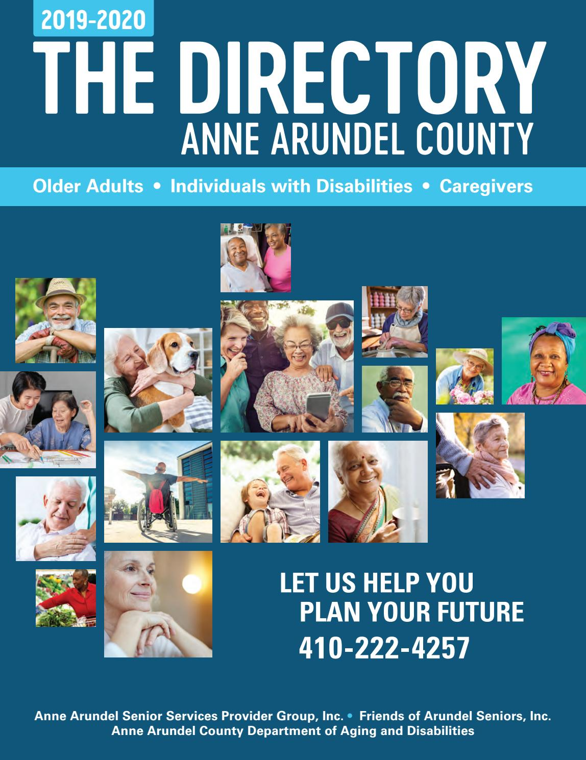 Harford Fair Schedule 2020.Anne Arundel County Services For Seniors Guide 2019 2020 By