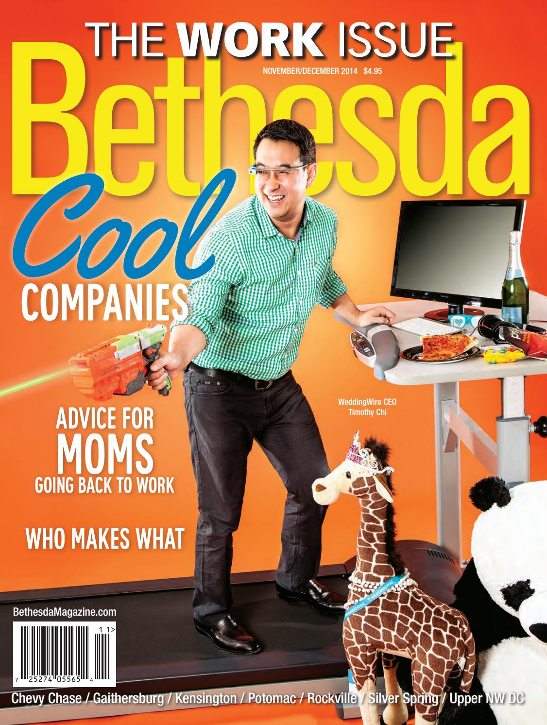 Bethesda Magazine: November-December 2014 by Bethesda