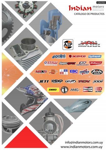 bec3f52d9baf Catalogo Indian Motors by Indian Motors - issuu