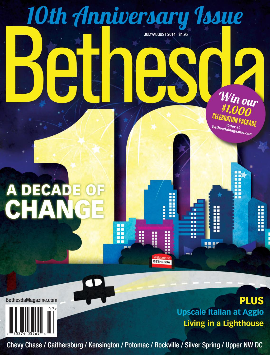Bethesda Magazine: July-August 2014 by Bethesda Magazine - issuu