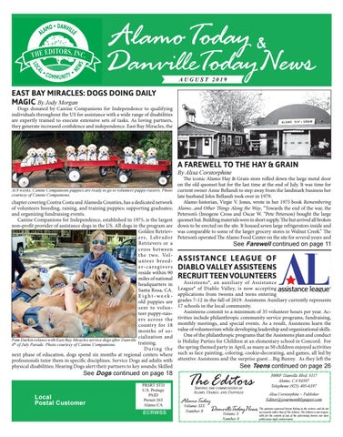 2019, AUGUST ~ Alamo Today & Danville Today News by The
