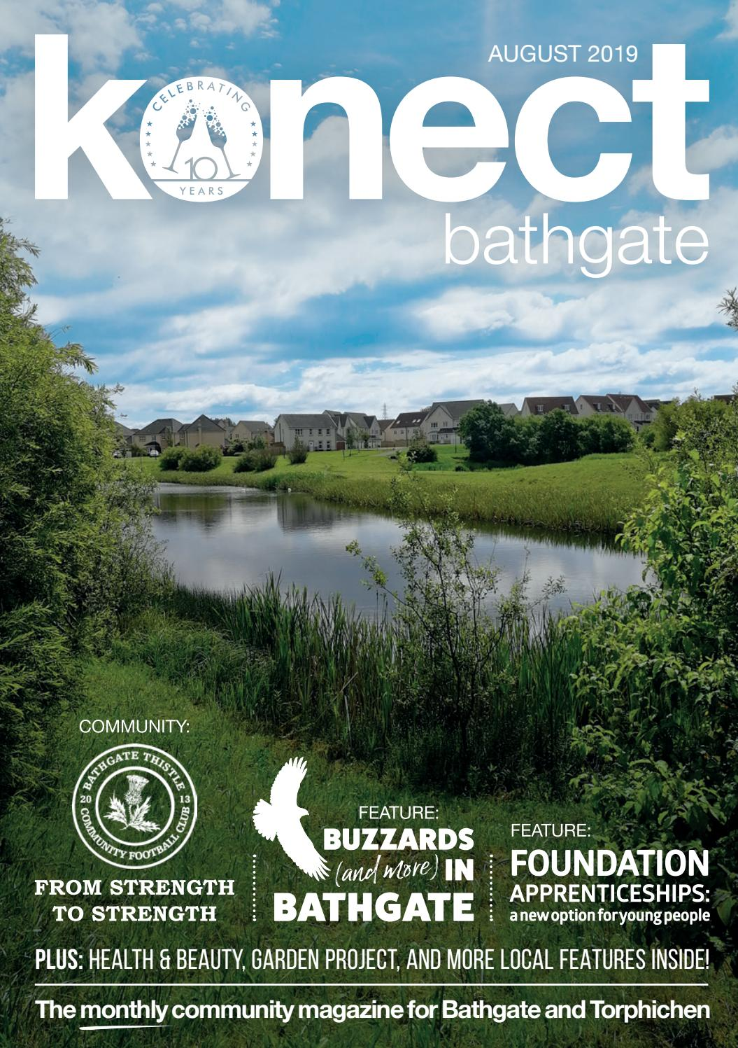 Konect Bathgate August 2019 By Konect Magazines Issuu