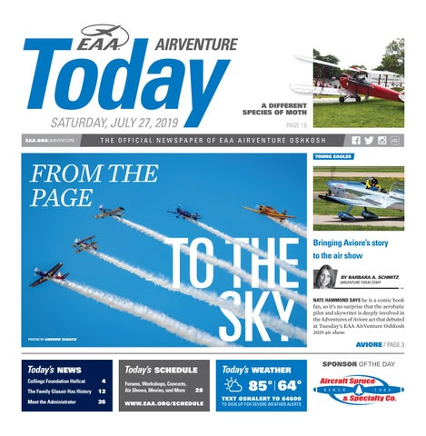 EAA AirVenture Today - Saturday, July 27, 2019 by EAA