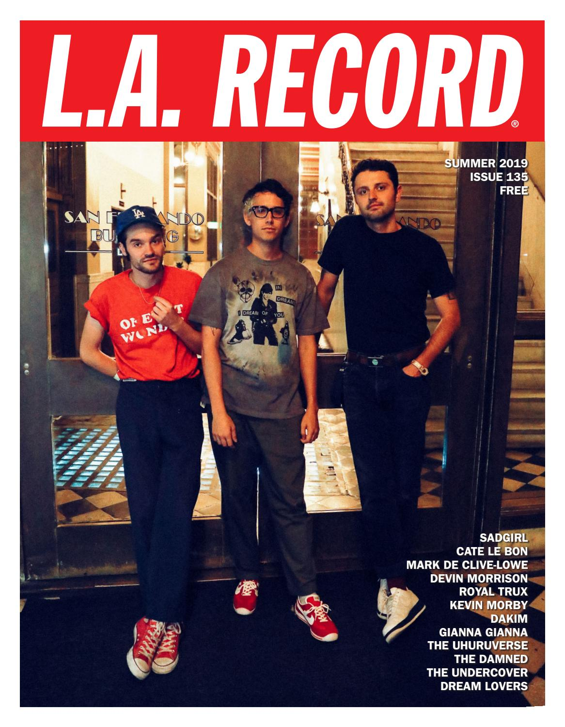 L A  RECORD ISSUE 135 by L A  RECORD - issuu