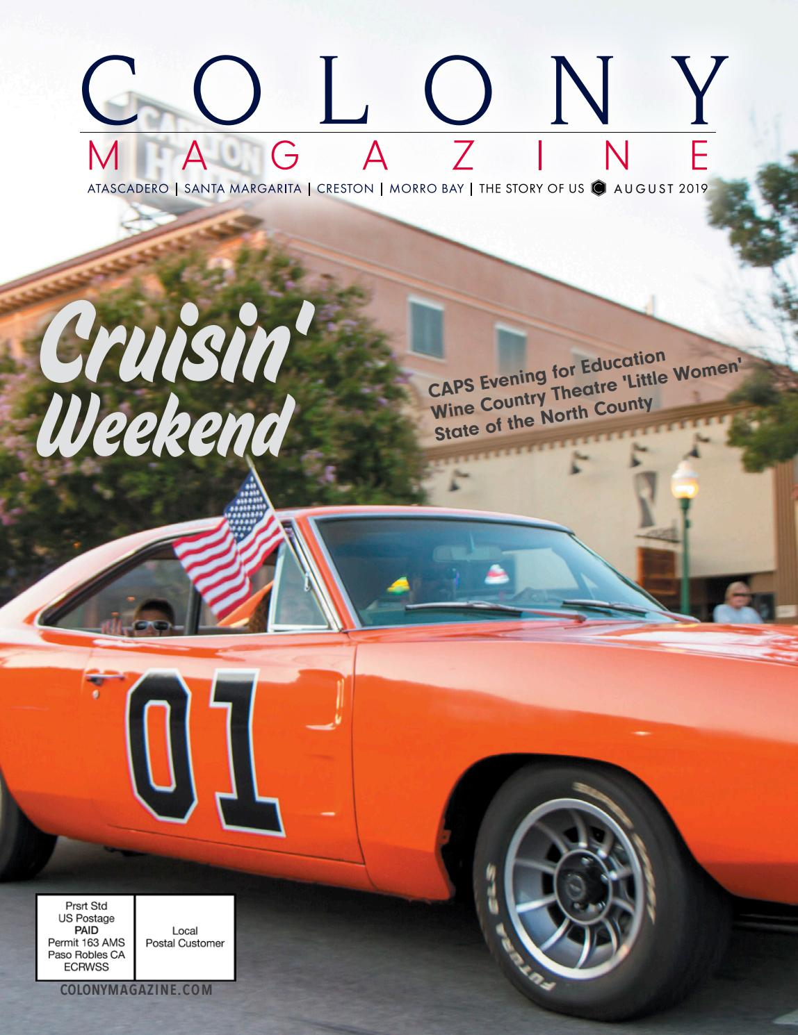 Morro Bay Car Show 2020.Colony Magazine 014 August 2019 By Colony Media Issuu
