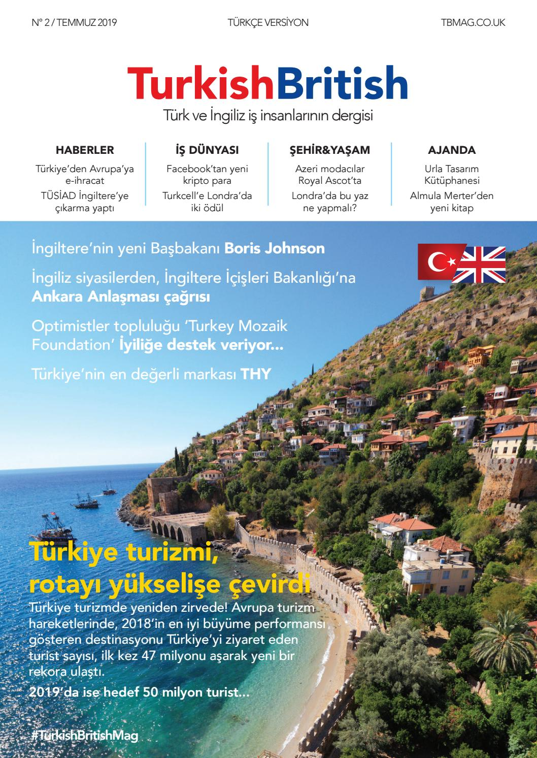 Turkish British Magazine 02 Tr By Turkish British Magazine Issuu