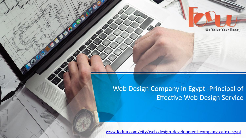 Web Design Company In Egypt Principal Of Effective Web Design Service By Foduu Issuu