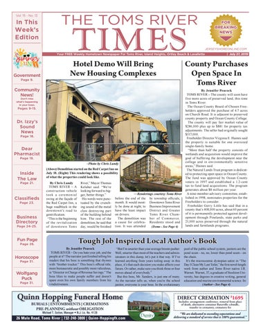 2019-07-27 - The Toms River Times by Micromedia Publications