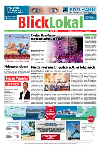 Blicklokal Buchen Kw 30 2019 By Blicklokal Wochenzeitung Issuu