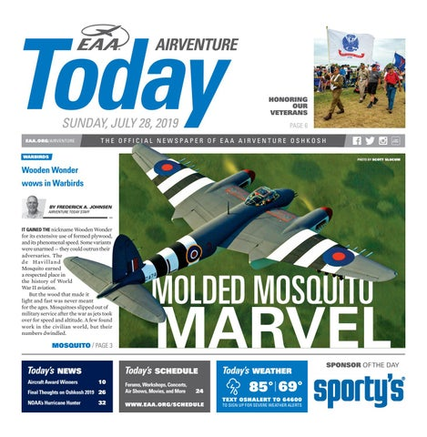 EAA AirVenture Today - Sunday, July 28, 2019 by EAA