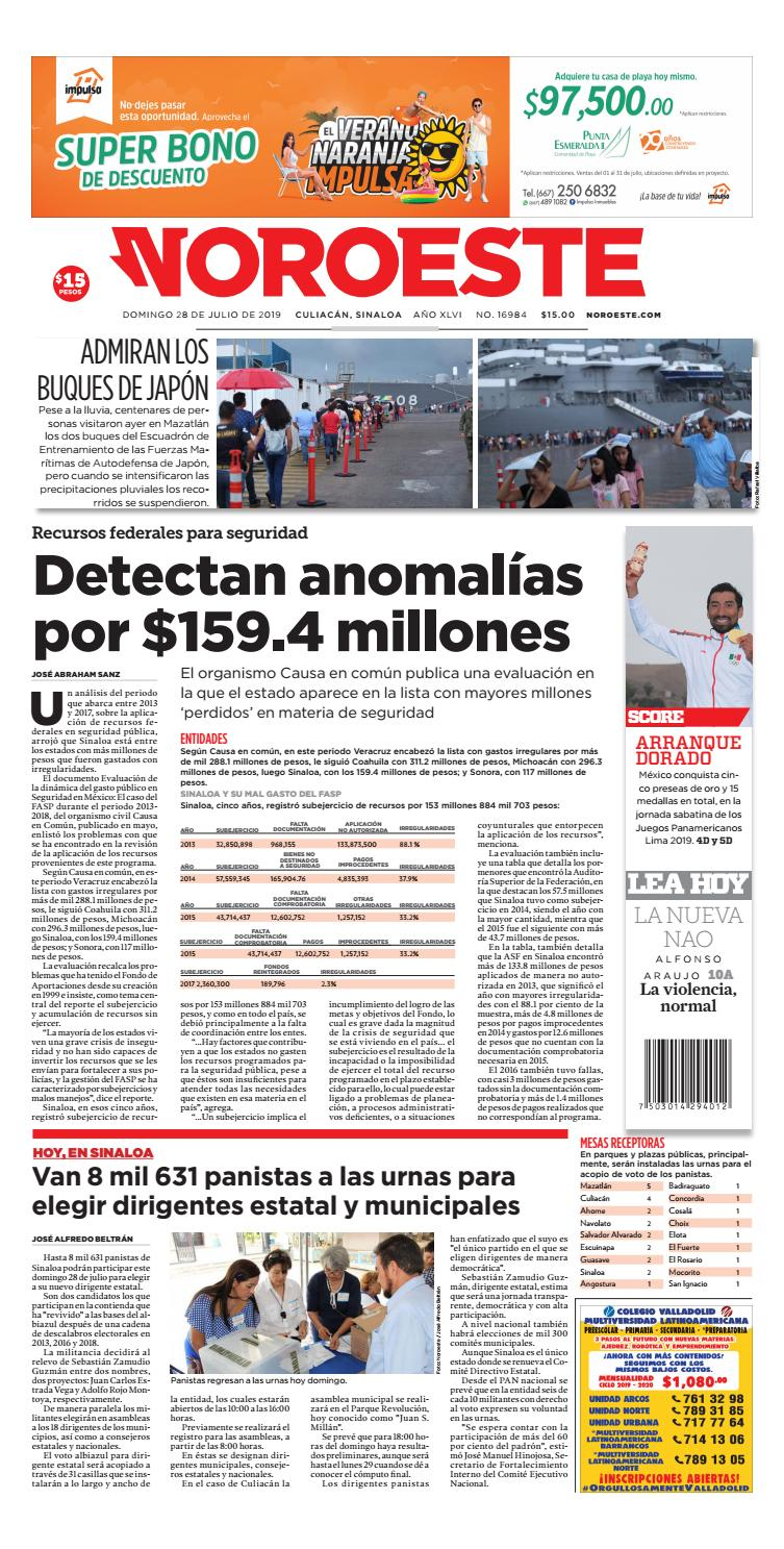 Culiacán28072019 by Noroeste - issuu