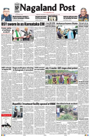July 27, 2019 by Nagaland Post - issuu
