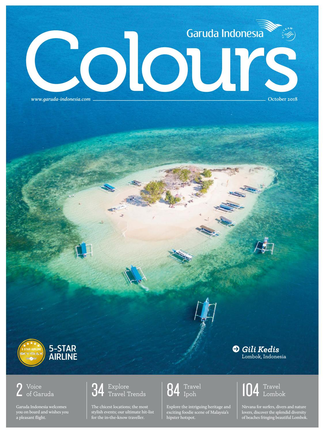 Colours Garuda Indonesia Valentino Luis October 2018 By