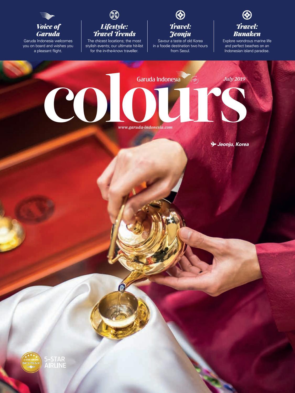 Colours Garuda Indonesia Valentino Luis July 2019 By Valentino Luis Garuda Indonesia Issuu