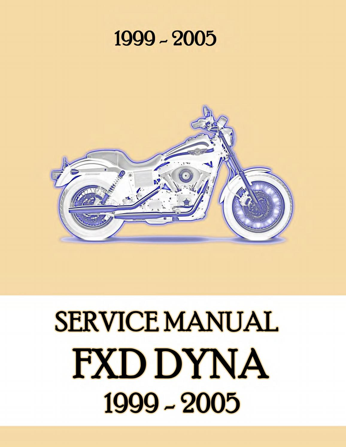 2002 HARLEY DAVIDSON DYNA GLIDE Service Repair Manual by ...