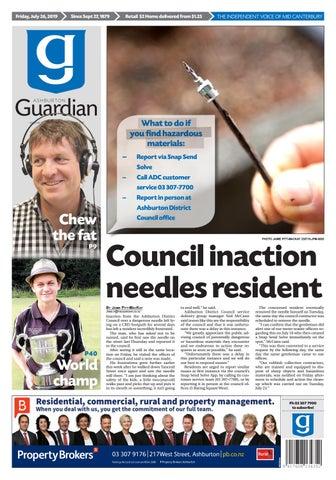 Ashburton Guardian, Friday, July 26, 2019 by Ashburton