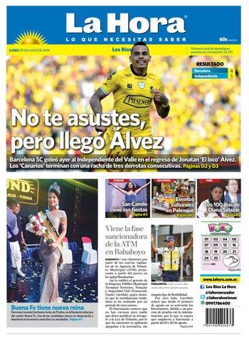 b31a92627edd Los Ríos 29 de julio de 2019 by Diario La Hora Ecuador - issuu