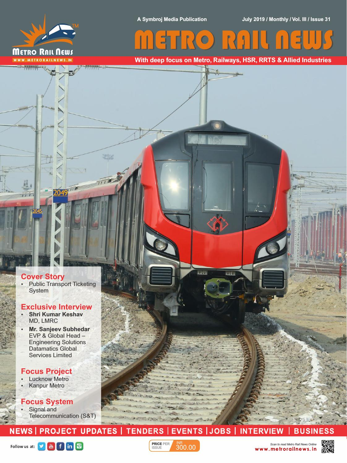 Metro Rail News July 2019: Ticketing System Special by Metro
