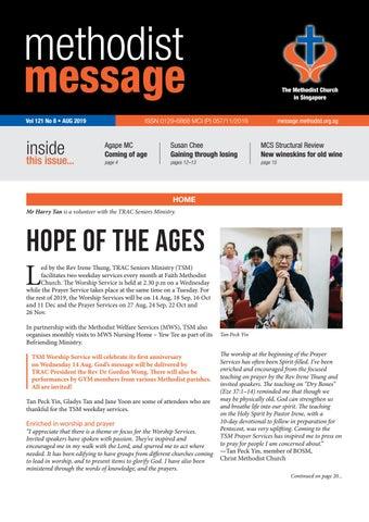 Methodist Message: August 2019 by Methodist Message - issuu