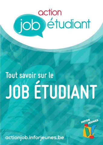 Calendrier Paiement Randstad 2020.Action Job Etudiant Infor Jeunes By Federation Infor Jeunes