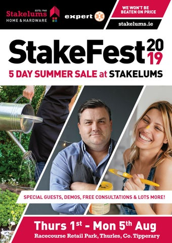 Stakefest 2019 by Stakelums Home&Hardware - issuu