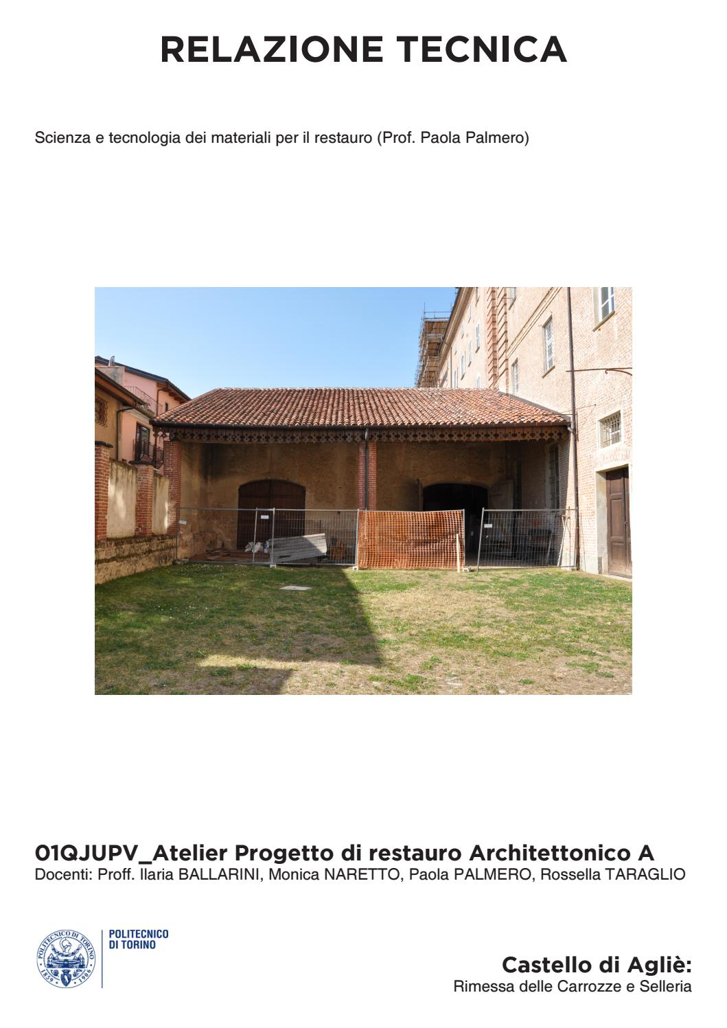 """Vespaio Areato Altezza Minima project book"""" atelier architectural restoration_castello di"""