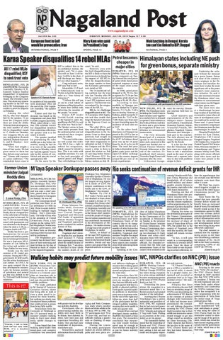 July 29, 2019 by Nagaland Post - issuu