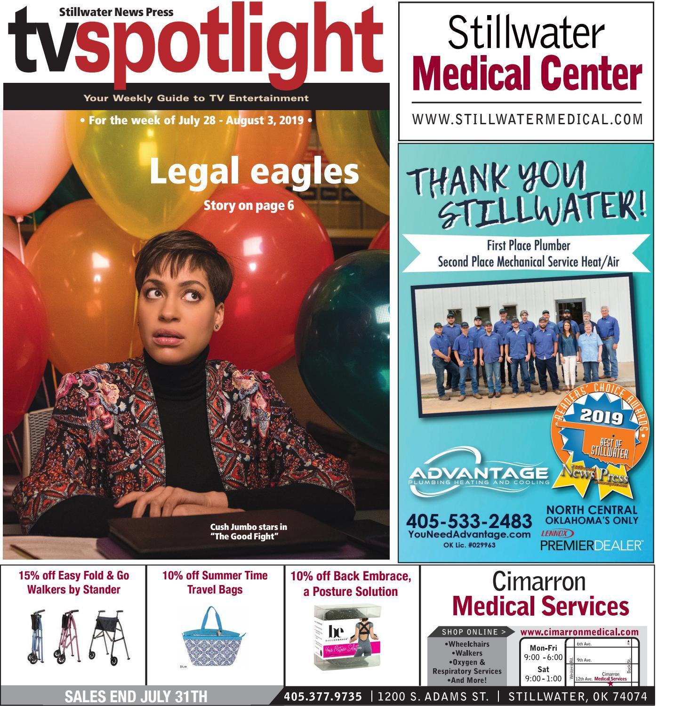 TV Spotlight 07 28 19 by Stillwater News Press issuu
