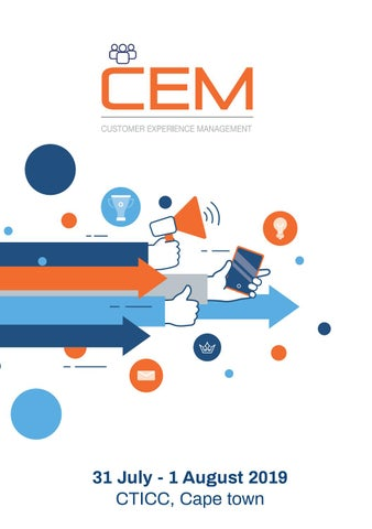 CEM Africa Summit 2019 | Digital Show Guide by Kinetic SA